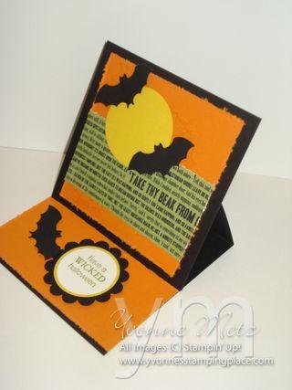 Halloween Easel Card 1