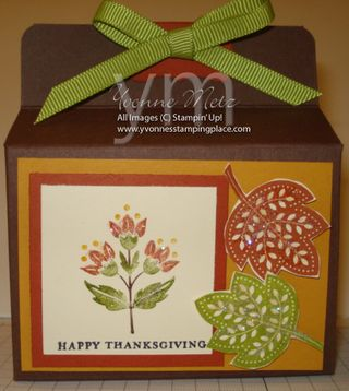 Thanksgiving Gable Box