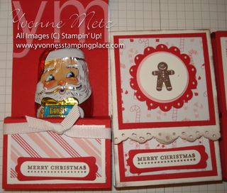 Chocolate Santa Treat Holder