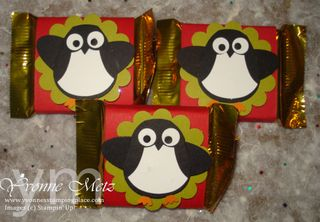 Penguin trio favor