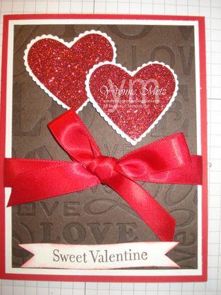 Sweet Valentine Letterpress