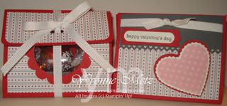 Valentine purse treat holders
