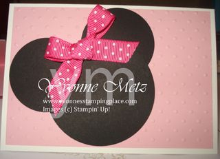 Minnie Mouse small invites