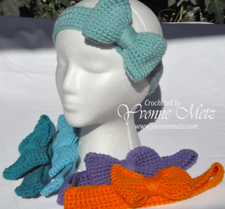 Aruba Sea Bow Headband 2
